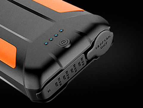 38000 mAh 3-USB/12V DC Power Pack